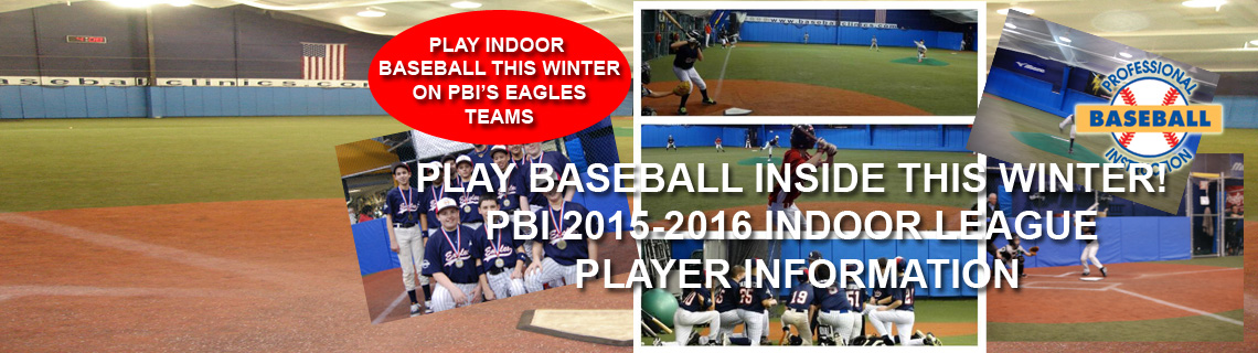 Join the Eagles For PBI's Indoor Fall/Winter League