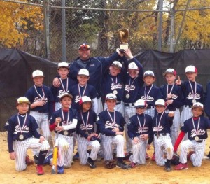 11U Eagles 2013 fall champs