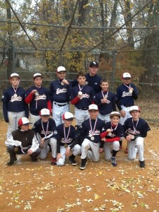 12U Eagles - 2013 fall champions