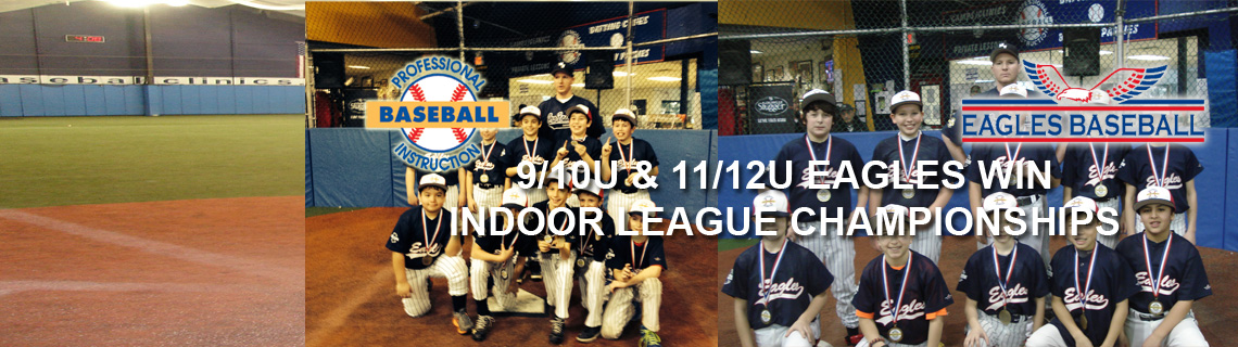 9/10U & 11/12U Eagles Win Indoor Season Championships
