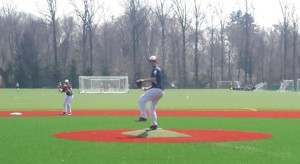 14U Eagles pitcher Danny McNally