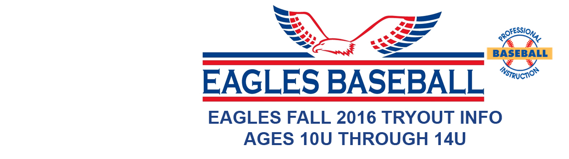 Eagles 2016 Fall Tryout Information